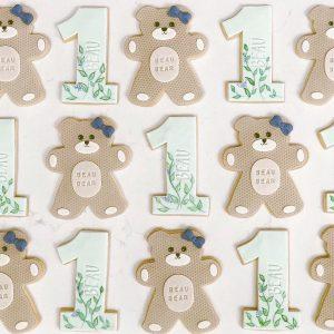 Beau Bear is 1 Cookie